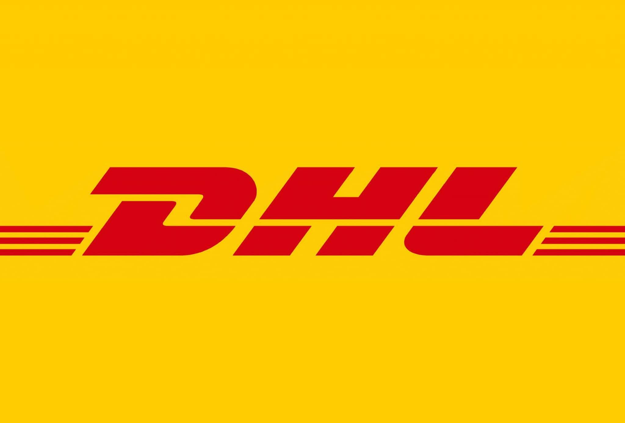 Das Logo von DHL