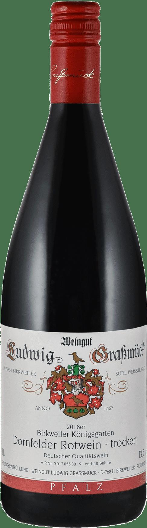 Weingut Ludwig Graßmück, Simon Graßmück, Dornfelder Rotwein, trocken