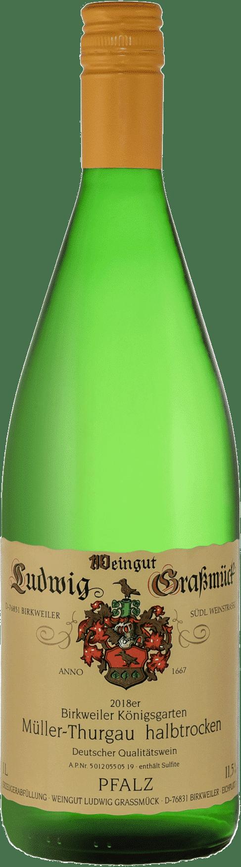 Weingut Ludwig Graßmück, Simon Graßmück, Mueller Thurgau, halbtrocken