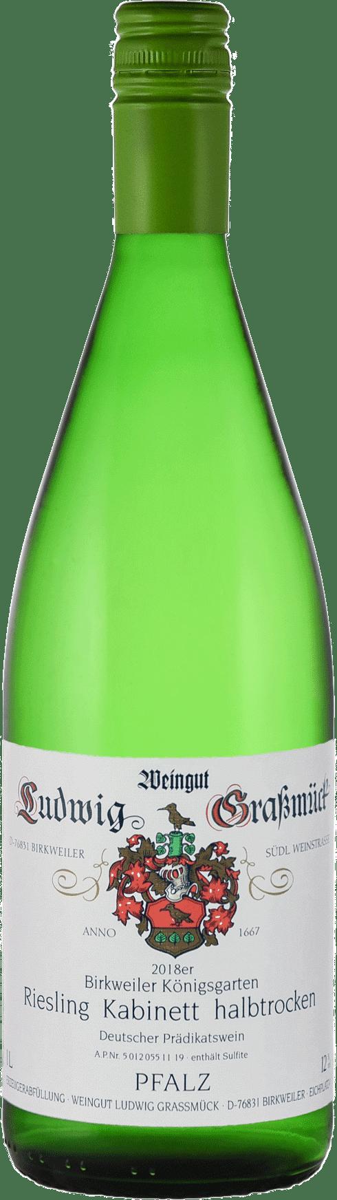 Weingut Ludwig Graßmück, Simon Graßmück, Riesling, halbtrocken