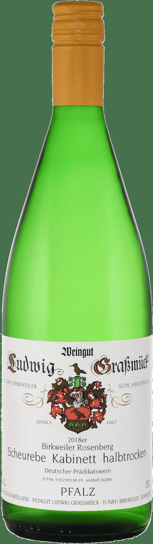 Weingut Ludwig Graßmück, Simon Graßmück, Scheurebe Kabinett, halbtrocken
