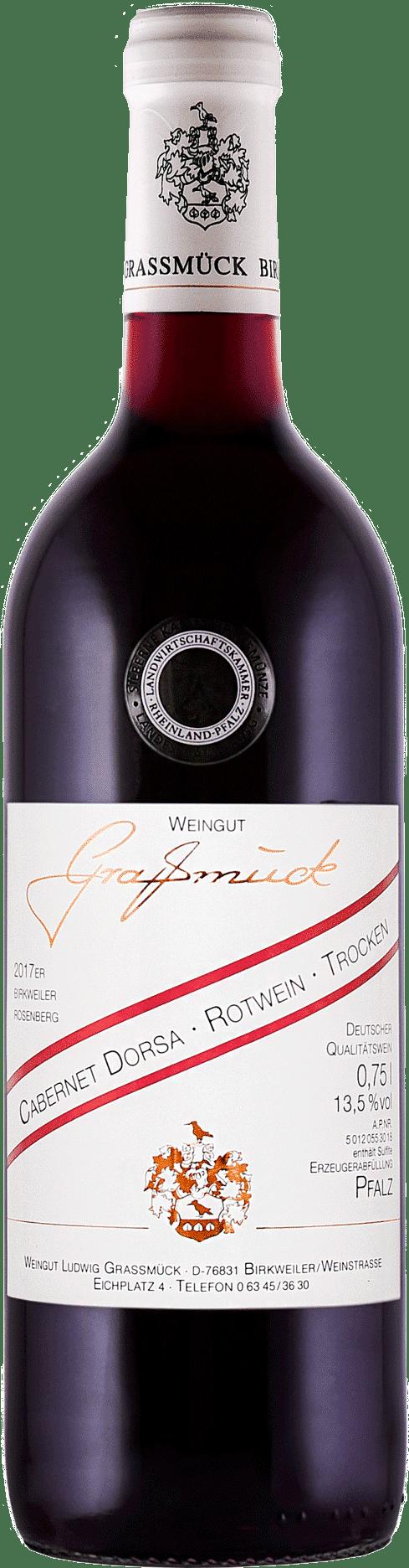 Weingut Ludwig Graßmück, Simon Graßmück, Cabernet Dorsa Rotwein, trocken