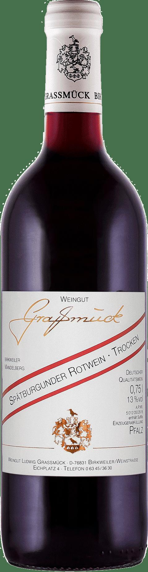 Weingut Ludwig Graßmück, Simon Graßmück, Spätburgunder, Rotwein