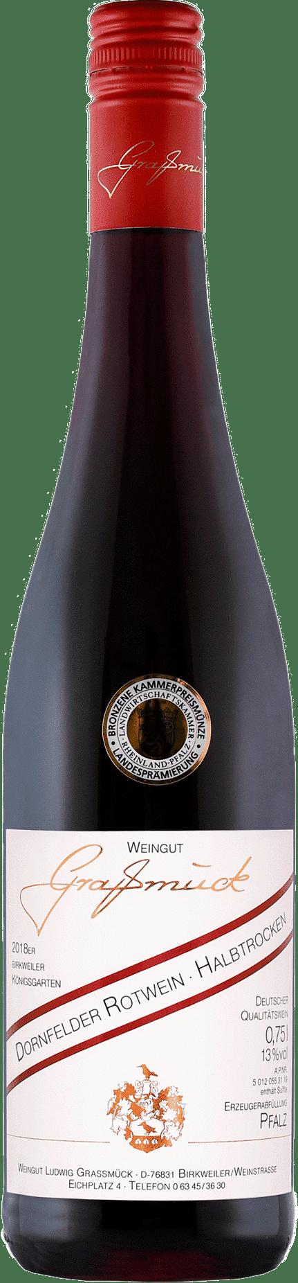 Weingut Ludwig Graßmück, Simon Graßmück, Dornfelder, Trocken