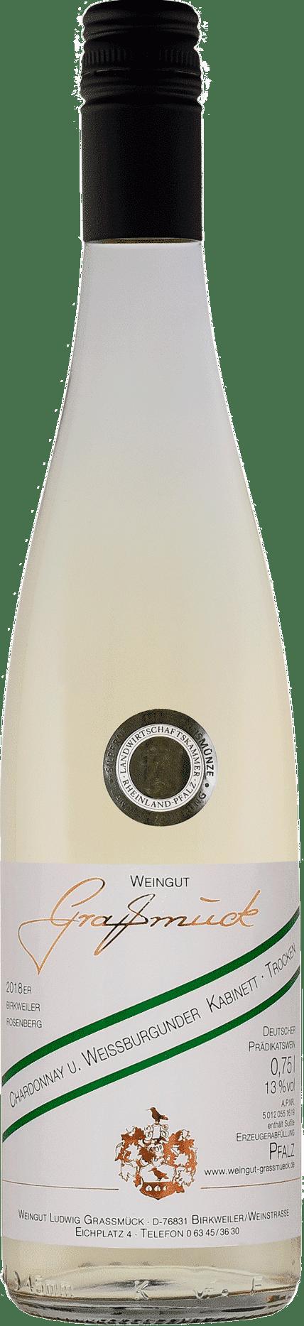 Weingut Ludwig Graßmück, Simon Graßmück, Chardonnay und Weissburgunder Kabinett, trocken