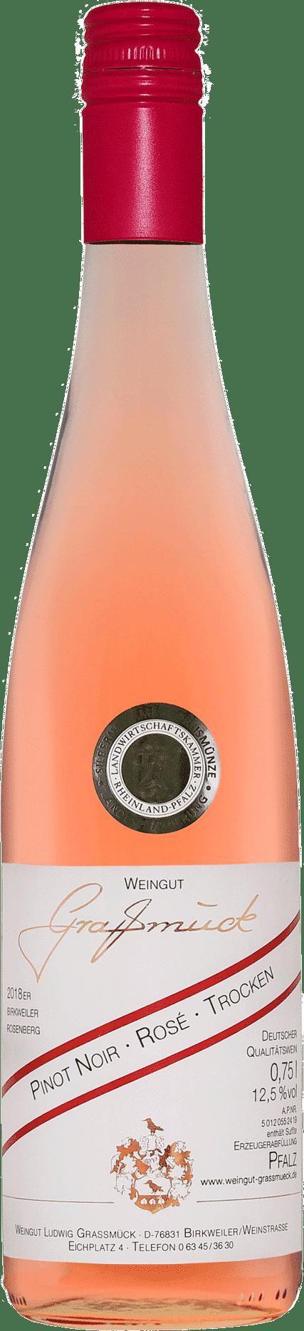 Weingut Ludwig Graßmück, Simon Graßmück, Pinot Noir Rose, trocken
