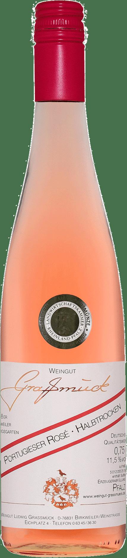 Weingut Ludwig Graßmück, Simon Graßmück, Portugieser Rose, halbtrocken