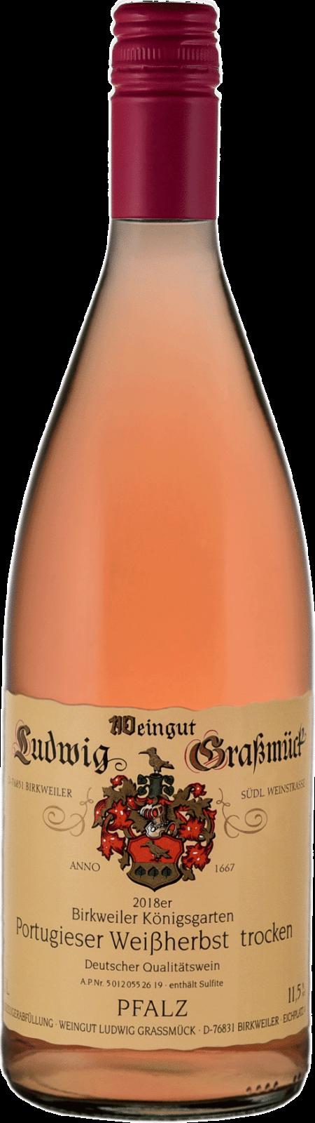 Weingut Ludwig Graßmück, Simon Graßmück, Portugieser Weissherbst, trocken