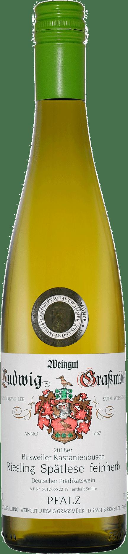Weingut Ludwig Graßmück, Simon Graßmück, Riesling Spätlese, feinherb