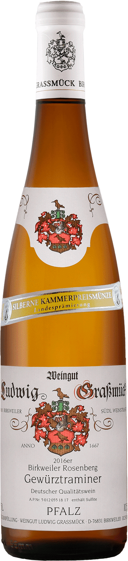 Weingut Ludwig Graßmück, Simon Graßmück, Gewürztraminer