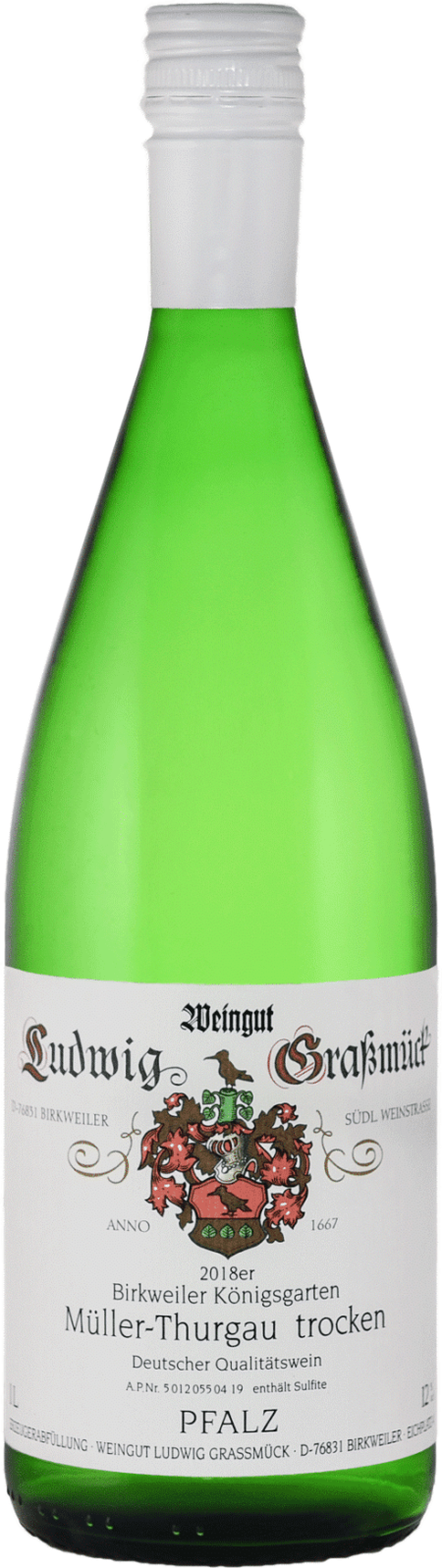 Weingut Ludwig Graßmück, Simon Graßmück, Müller Thurgau, trocken
