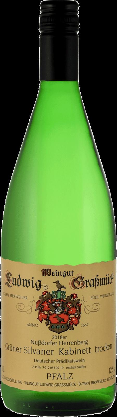 Weingut Ludwig Graßmück, Simon Graßmück, Grüner Silvaner Kabinett, trocken