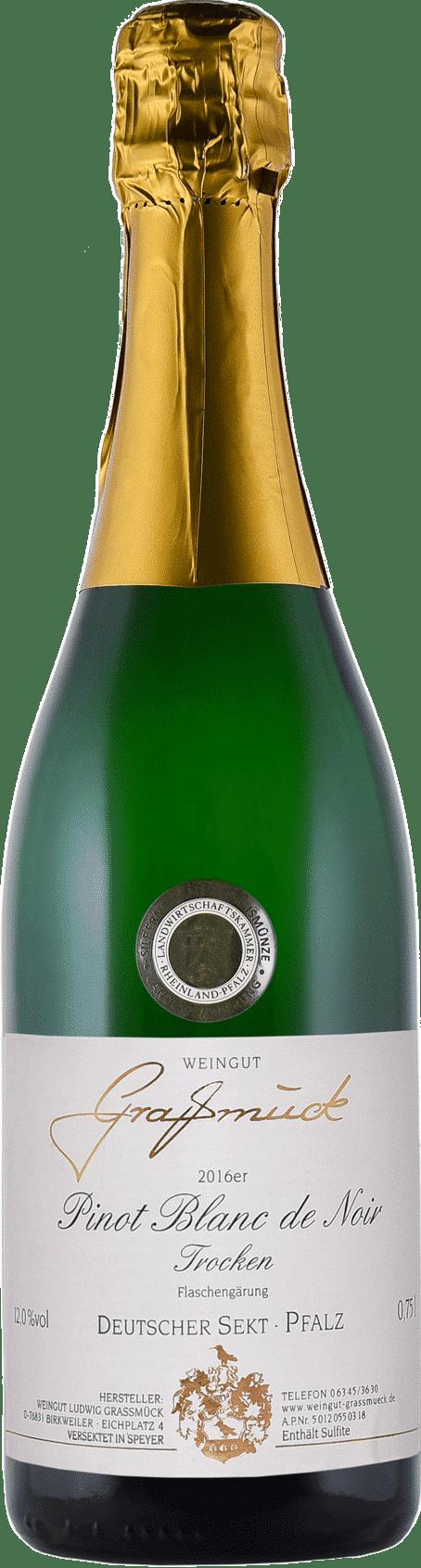 Weingut Ludwig Graßmück, Simon Graßmück, Pinot Blanc de Noir Sekt, trocken