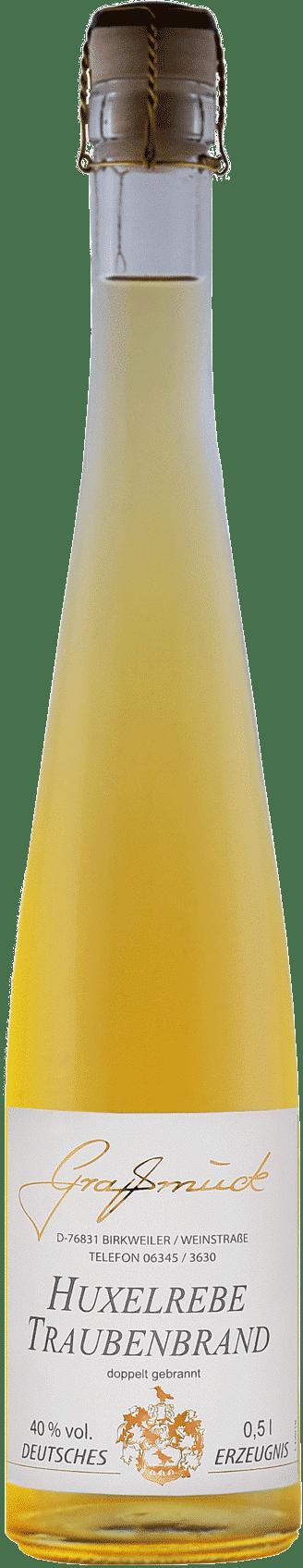 Weingut Ludwig Graßmück, Simon Graßmück, Huxelrebe Traubenbrand