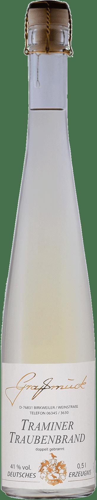 Weingut Ludwig Graßmück, Simon Graßmück, Traminer Traubenbrand