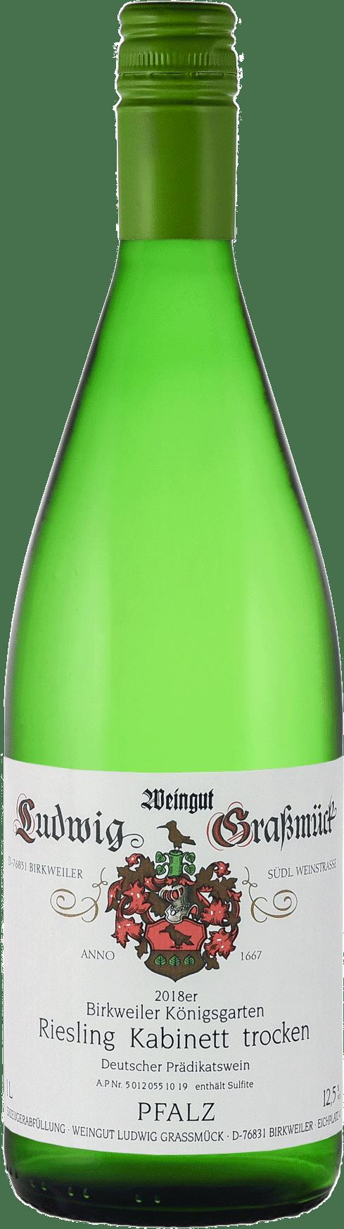 Weingut Ludwig Graßmück, Simon Graßmück, Riesling Kabinett, trocken