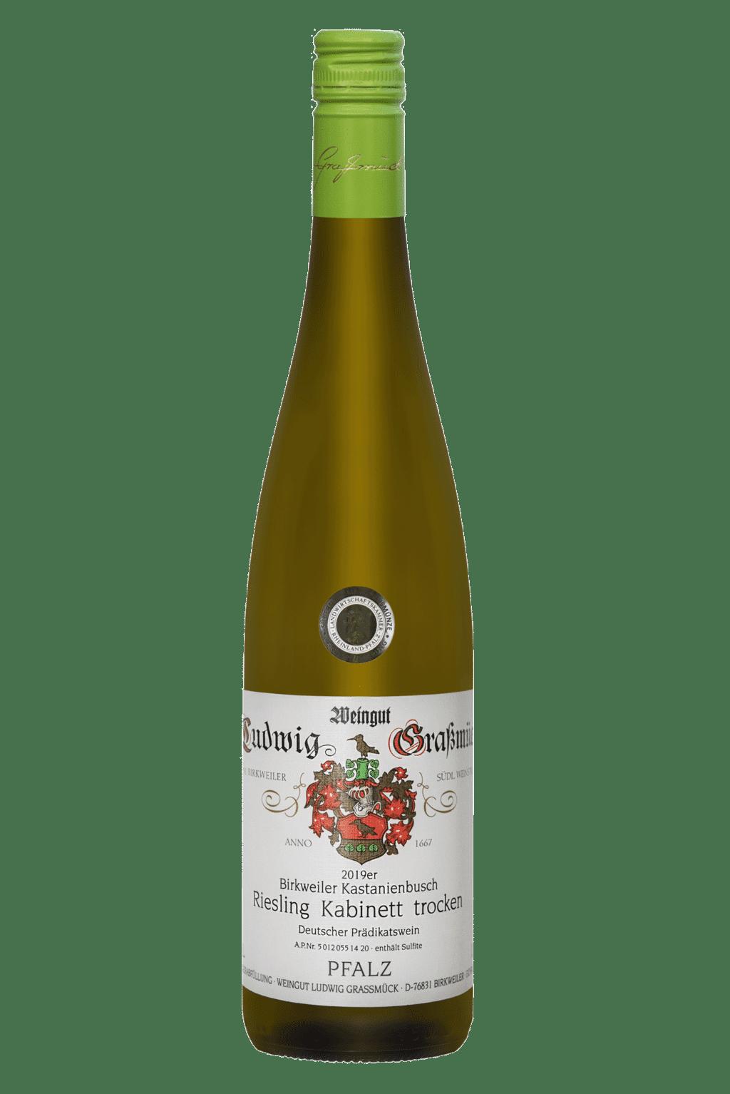 Weingut Ludwig Graßmück, Simon Graßmück, Chardonnay und Weissburgunder Kabinett trocken 2019