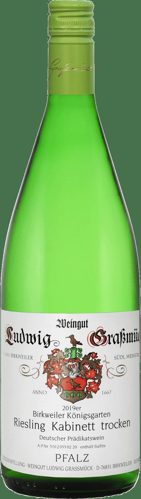 Weingut Ludwig Graßmück, Simon Graßmück, Riesling Kabinett, trocken 2019