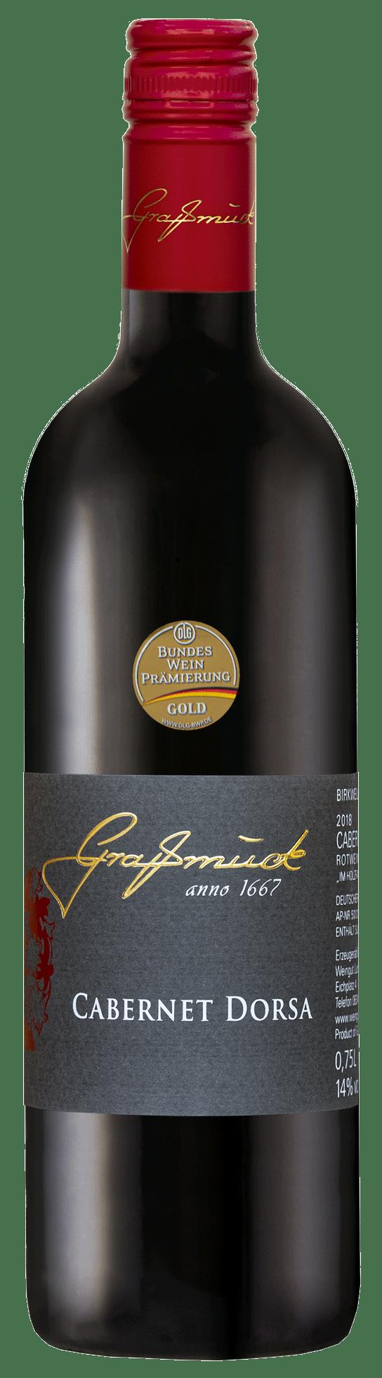 Weingut Ludwig Graßmück, Simon Graßmück, Cabernet-Dorsa-20 mit Auszeichnung